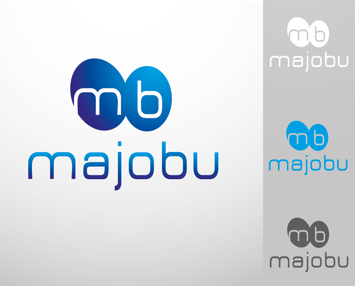Logo Design by VENTSISLAV KOVACHEV - Entry No. 84 in the Logo Design Contest Inspiring Logo Design for Majobu.