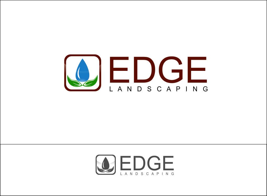 Logo Design by Agus Martoyo - Entry No. 243 in the Logo Design Contest Inspiring Logo Design for Edge Landscaping.