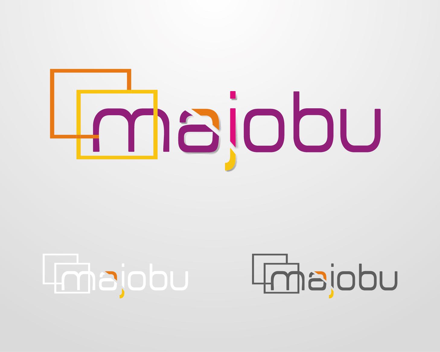 Logo Design by VENTSISLAV KOVACHEV - Entry No. 87 in the Logo Design Contest Inspiring Logo Design for Majobu.