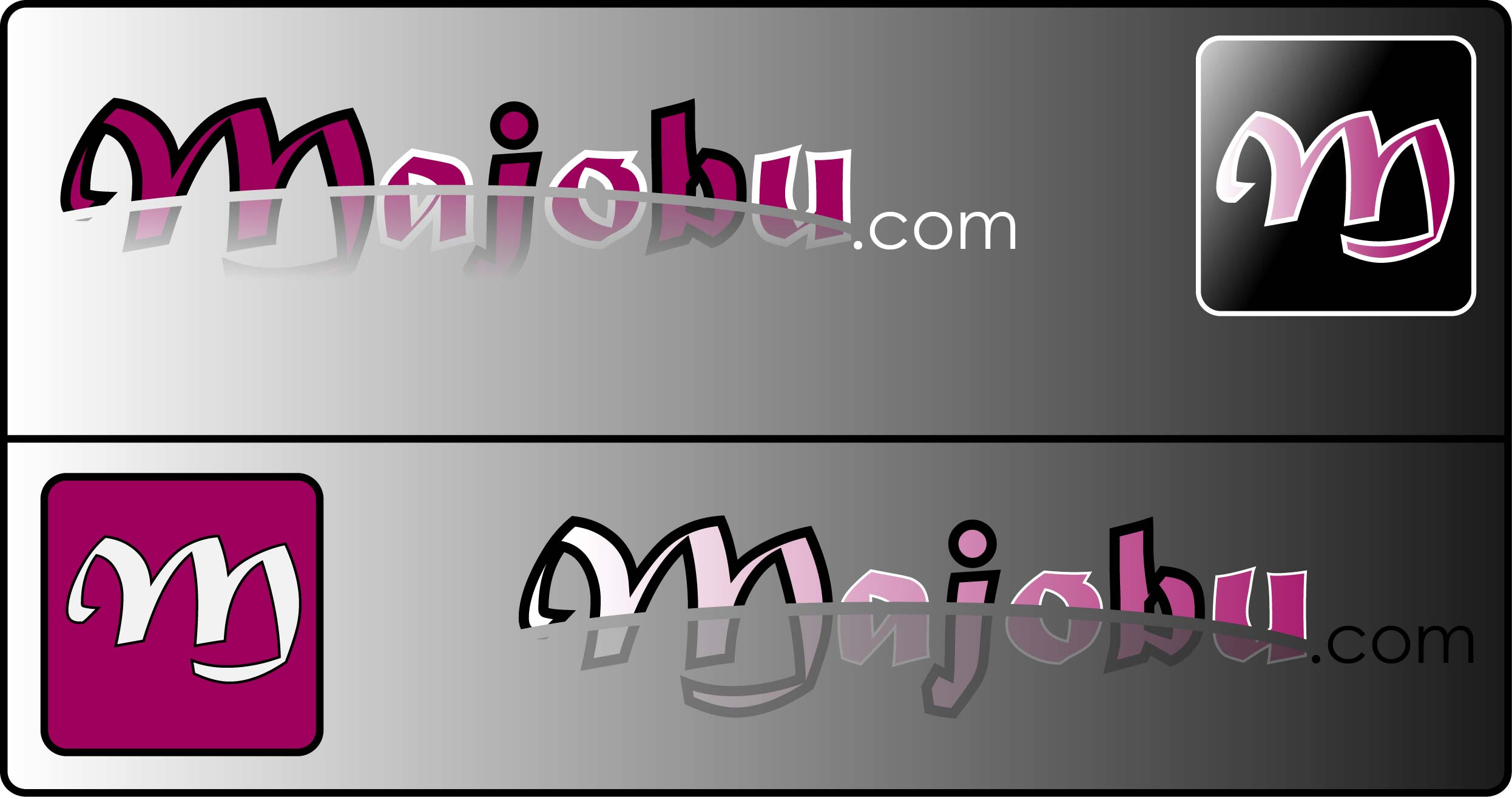 Logo Design by Andy McColm - Entry No. 90 in the Logo Design Contest Inspiring Logo Design for Majobu.