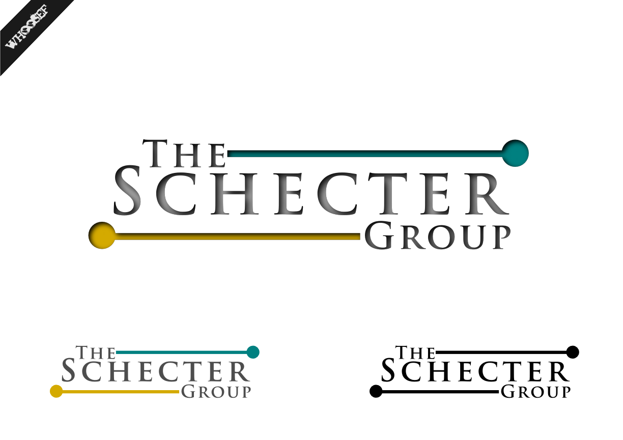 Logo Design by whoosef - Entry No. 84 in the Logo Design Contest Inspiring Logo Design for The Schecter Group.