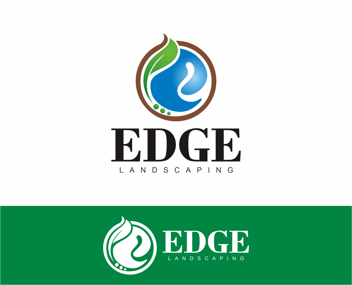Logo Design by Armada Jamaluddin - Entry No. 244 in the Logo Design Contest Inspiring Logo Design for Edge Landscaping.