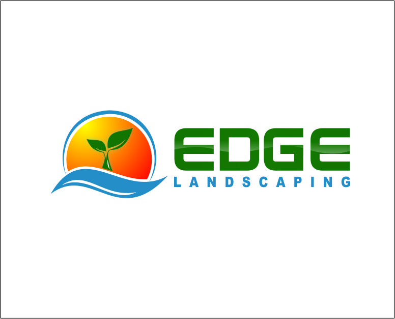 Logo Design by Agus Martoyo - Entry No. 245 in the Logo Design Contest Inspiring Logo Design for Edge Landscaping.