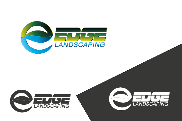 Logo Design by Private User - Entry No. 246 in the Logo Design Contest Inspiring Logo Design for Edge Landscaping.