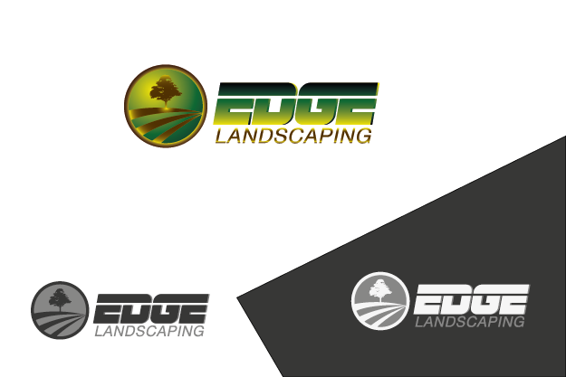Logo Design by Private User - Entry No. 247 in the Logo Design Contest Inspiring Logo Design for Edge Landscaping.
