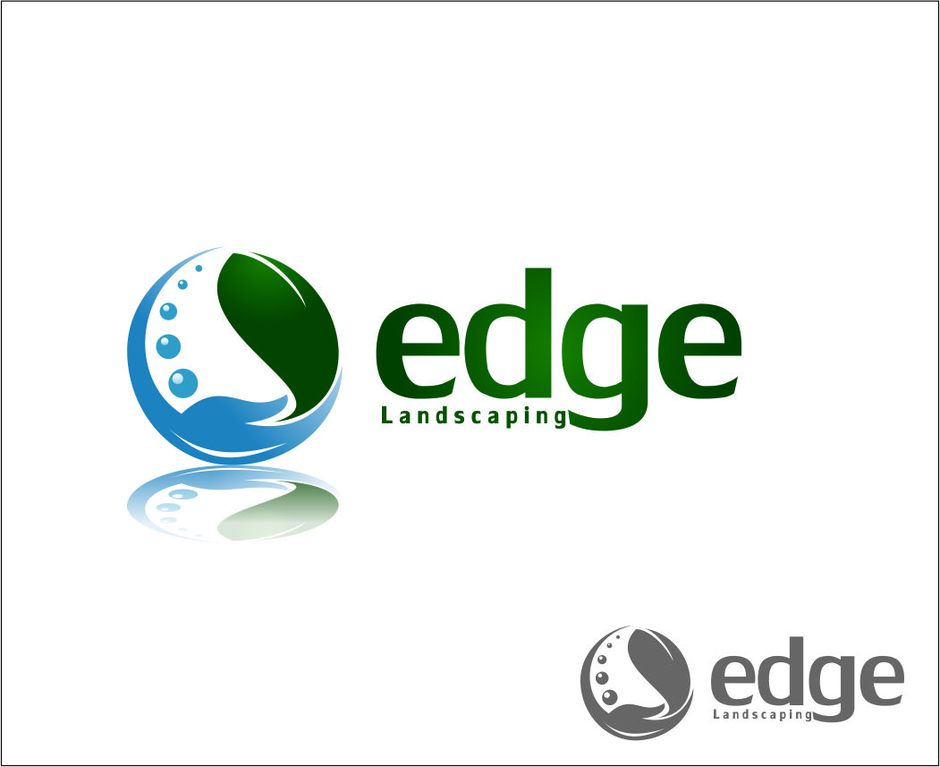 Logo Design by Agus Martoyo - Entry No. 248 in the Logo Design Contest Inspiring Logo Design for Edge Landscaping.