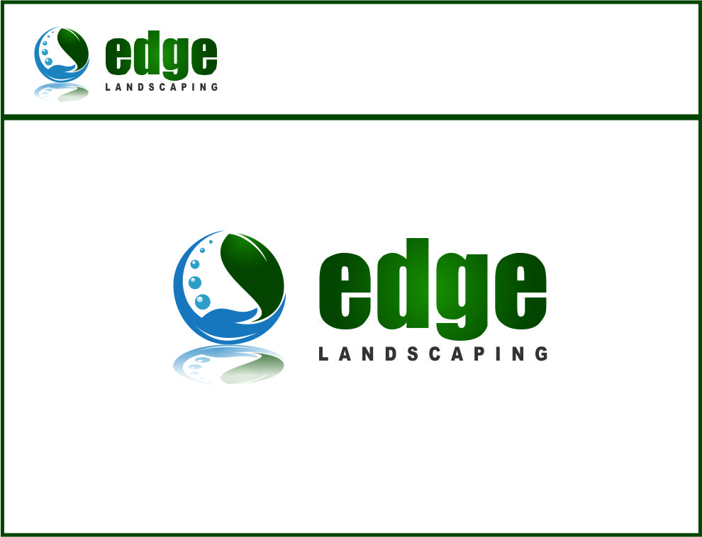 Logo Design by Agus Martoyo - Entry No. 251 in the Logo Design Contest Inspiring Logo Design for Edge Landscaping.