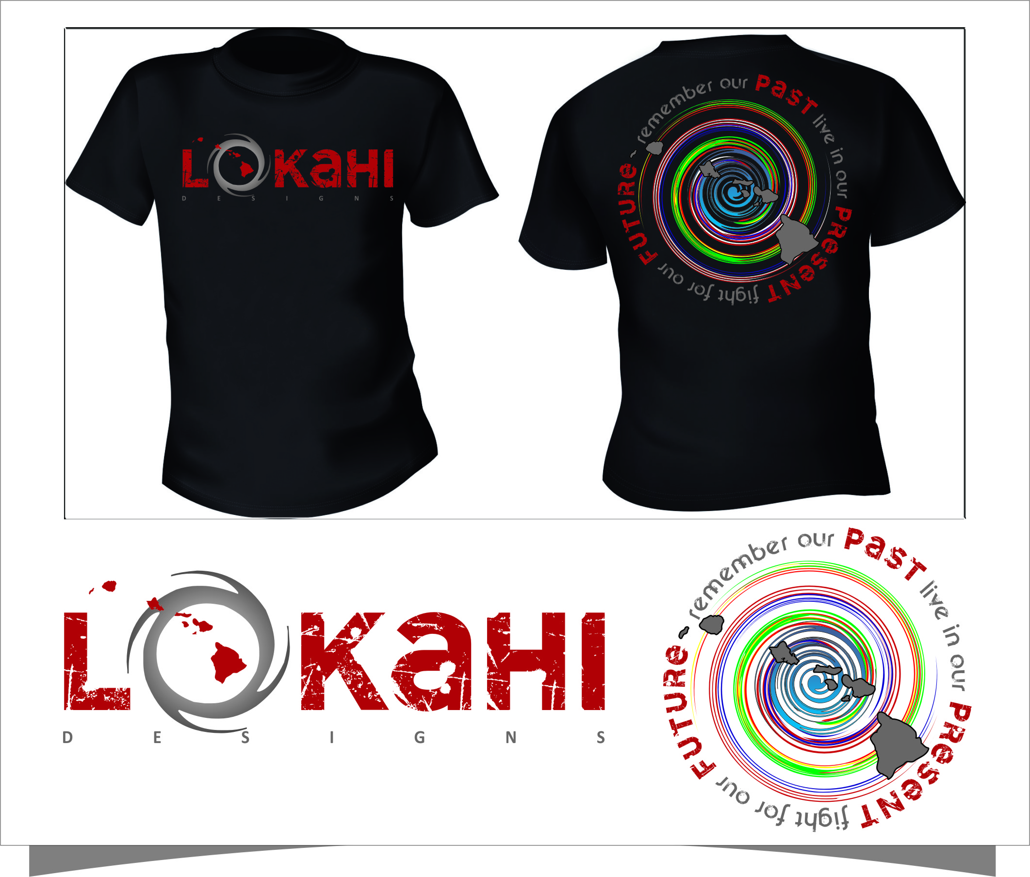 Clothing Design by Ngepet_art - Entry No. 59 in the Clothing Design Contest Creative Clothing Design for LOKAHI designs.