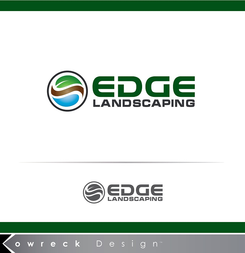 Logo Design by kowreck - Entry No. 252 in the Logo Design Contest Inspiring Logo Design for Edge Landscaping.