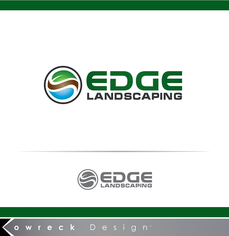 Logo Design by kowreck - Entry No. 253 in the Logo Design Contest Inspiring Logo Design for Edge Landscaping.