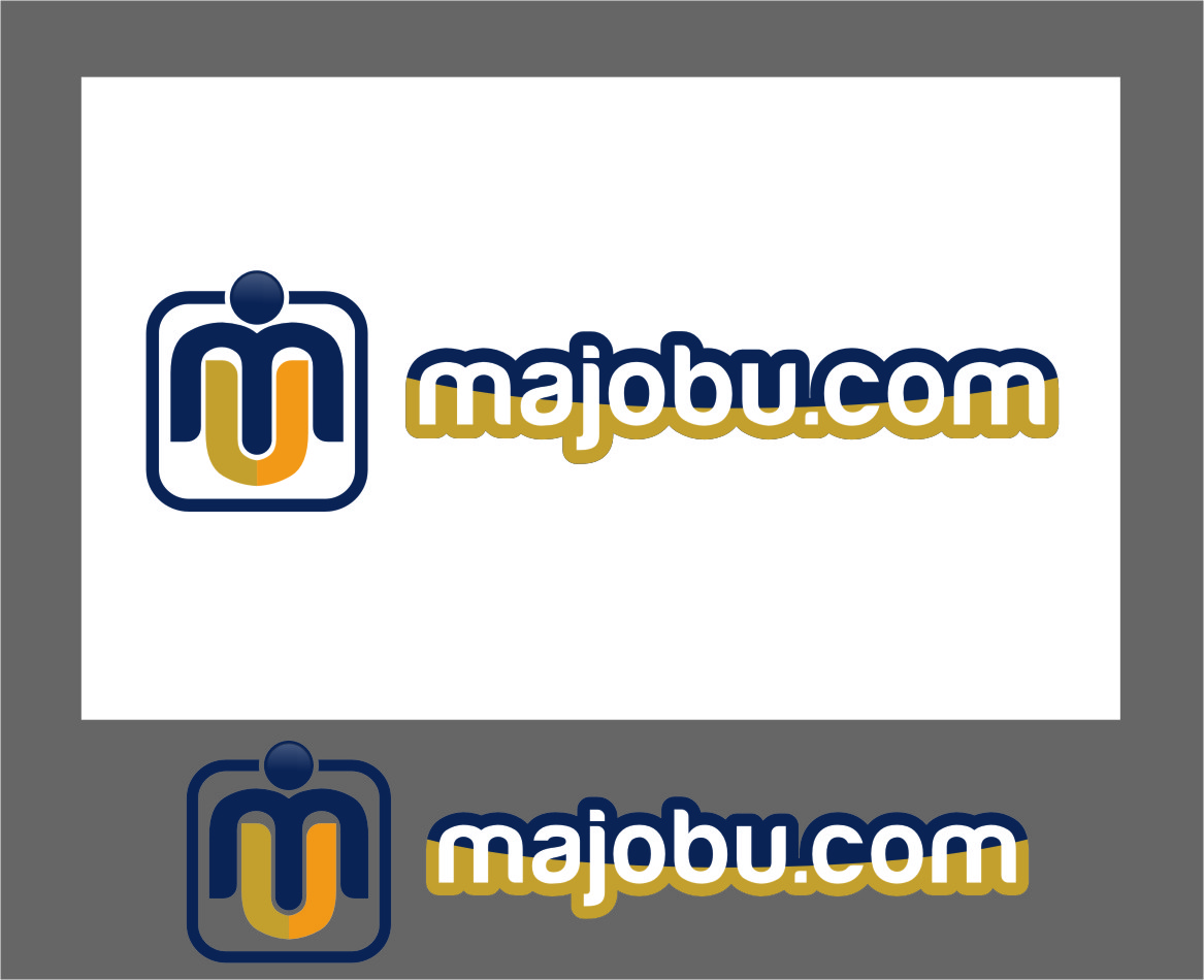 Logo Design by RasYa Muhammad Athaya - Entry No. 91 in the Logo Design Contest Inspiring Logo Design for Majobu.
