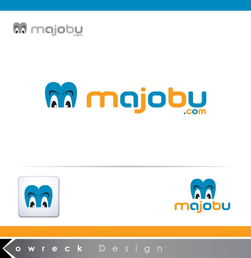 Logo Design by kowreck - Entry No. 92 in the Logo Design Contest Inspiring Logo Design for Majobu.