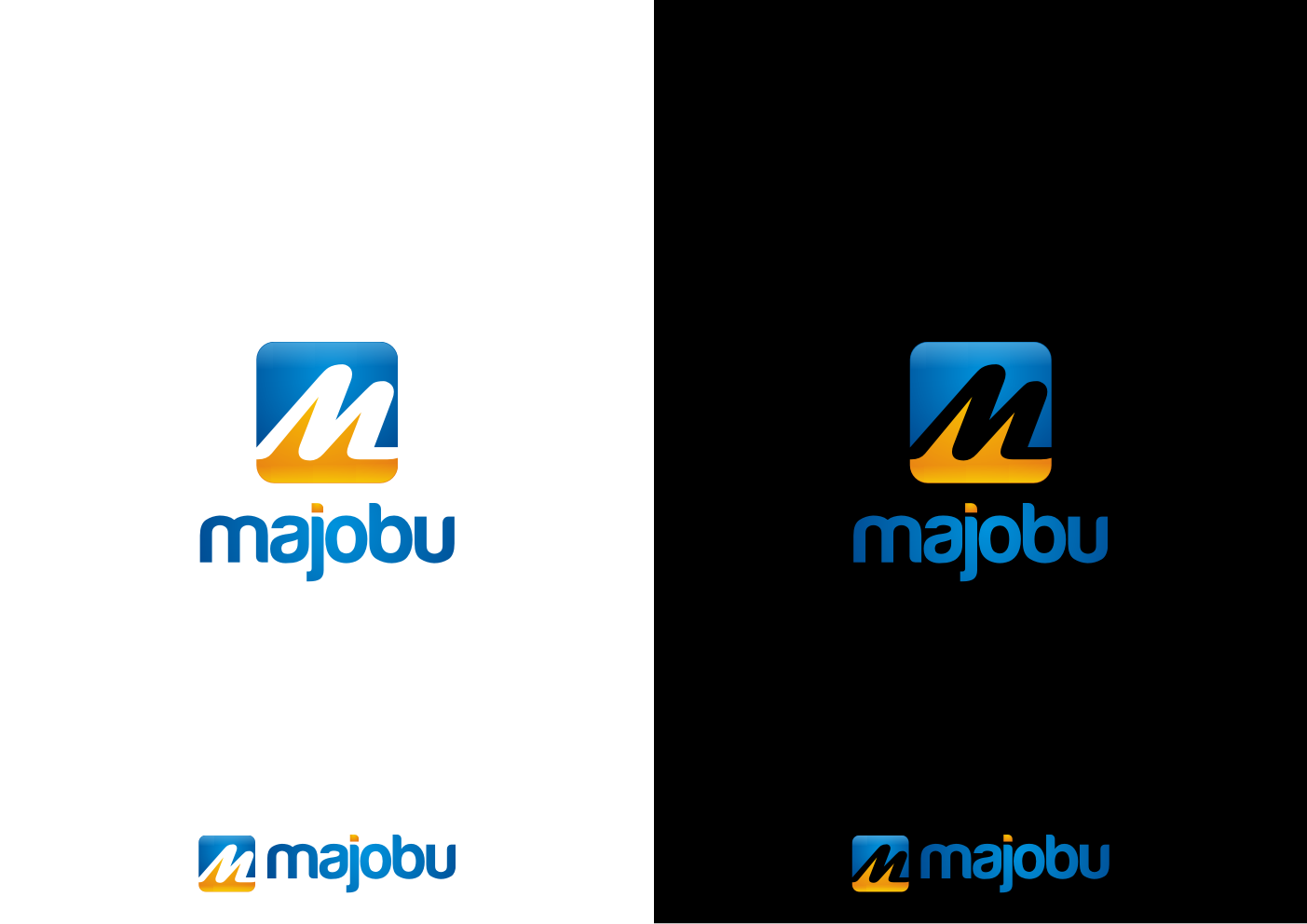 Logo Design by PayZ - Entry No. 95 in the Logo Design Contest Inspiring Logo Design for Majobu.