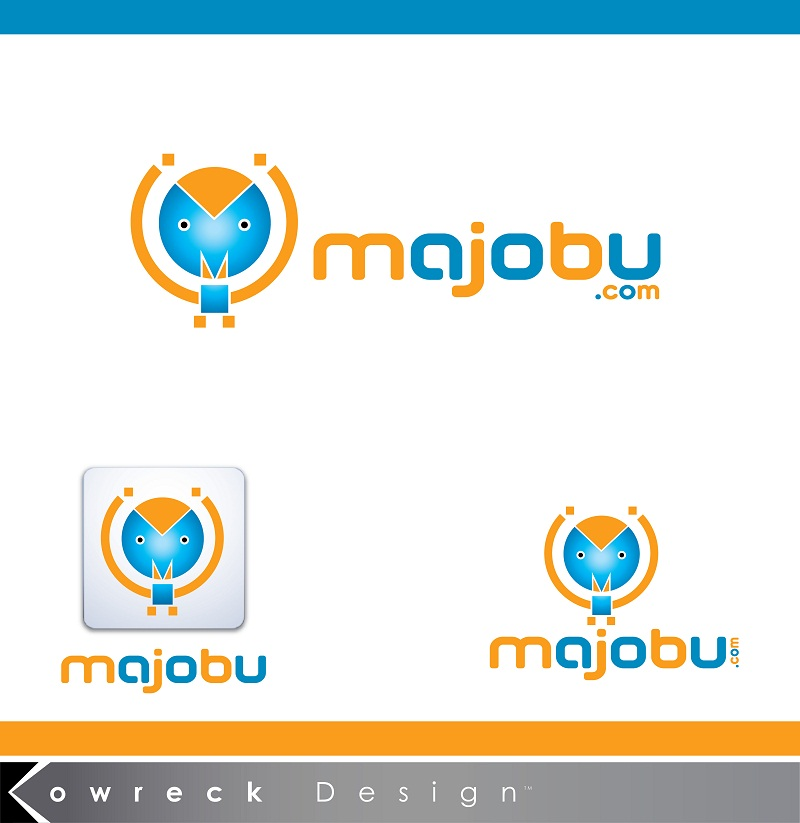 Logo Design by kowreck - Entry No. 98 in the Logo Design Contest Inspiring Logo Design for Majobu.