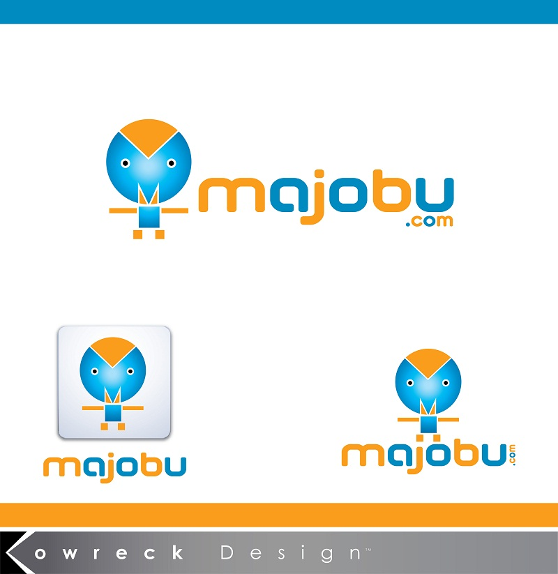 Logo Design by kowreck - Entry No. 99 in the Logo Design Contest Inspiring Logo Design for Majobu.