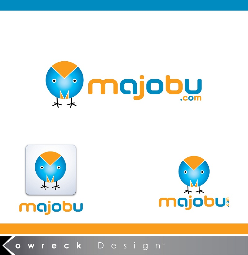 Logo Design by kowreck - Entry No. 100 in the Logo Design Contest Inspiring Logo Design for Majobu.