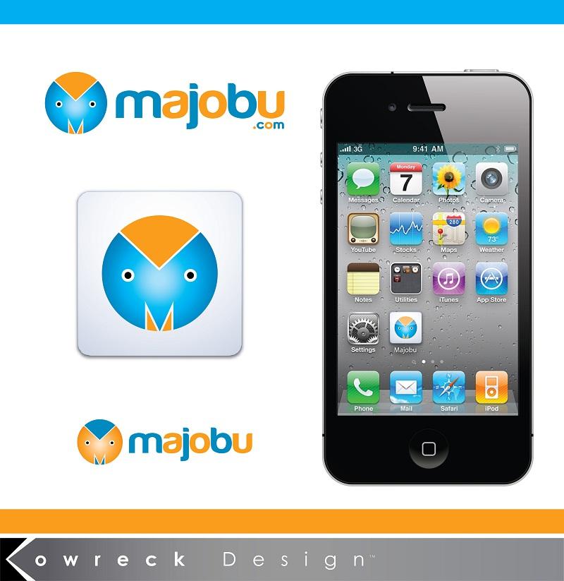 Logo Design by kowreck - Entry No. 101 in the Logo Design Contest Inspiring Logo Design for Majobu.