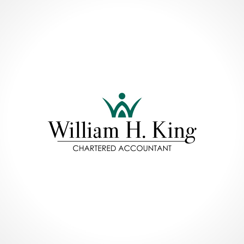 Logo Design by Private User - Entry No. 138 in the Logo Design Contest New Logo Design for William H. King, Chartered Accountant.
