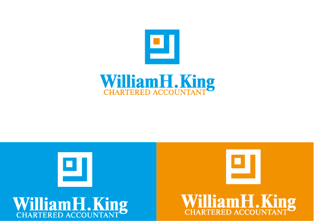 Logo Design by Private User - Entry No. 139 in the Logo Design Contest New Logo Design for William H. King, Chartered Accountant.