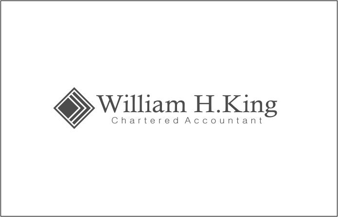 Logo Design by Agus Martoyo - Entry No. 144 in the Logo Design Contest New Logo Design for William H. King, Chartered Accountant.