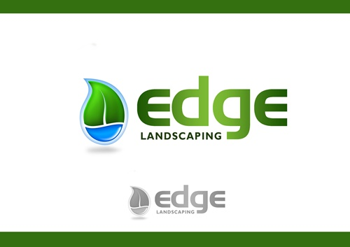 Logo Design by Respati Himawan - Entry No. 258 in the Logo Design Contest Inspiring Logo Design for Edge Landscaping.