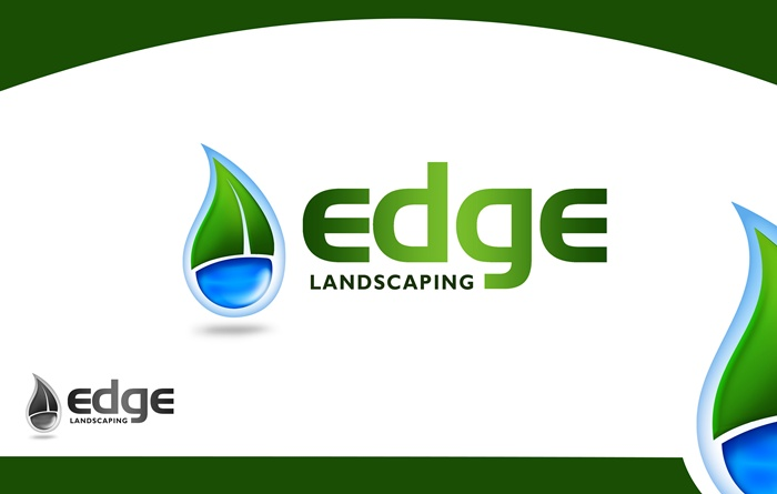 Logo Design by Respati Himawan - Entry No. 262 in the Logo Design Contest Inspiring Logo Design for Edge Landscaping.