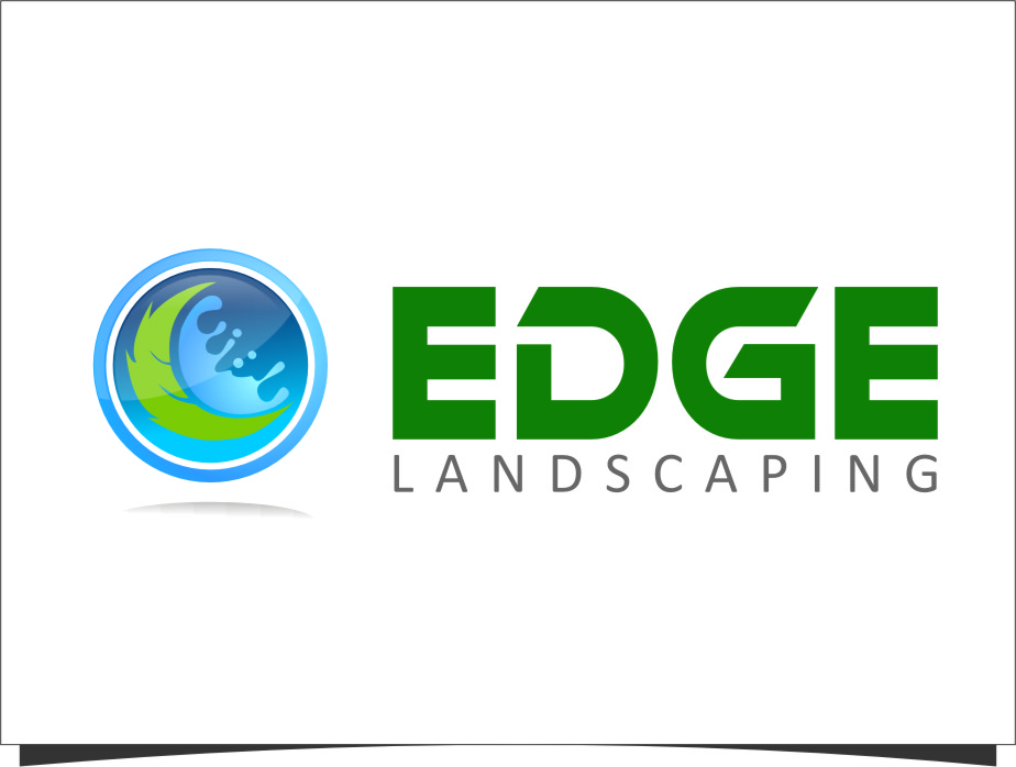 Logo Design by RasYa Muhammad Athaya - Entry No. 265 in the Logo Design Contest Inspiring Logo Design for Edge Landscaping.