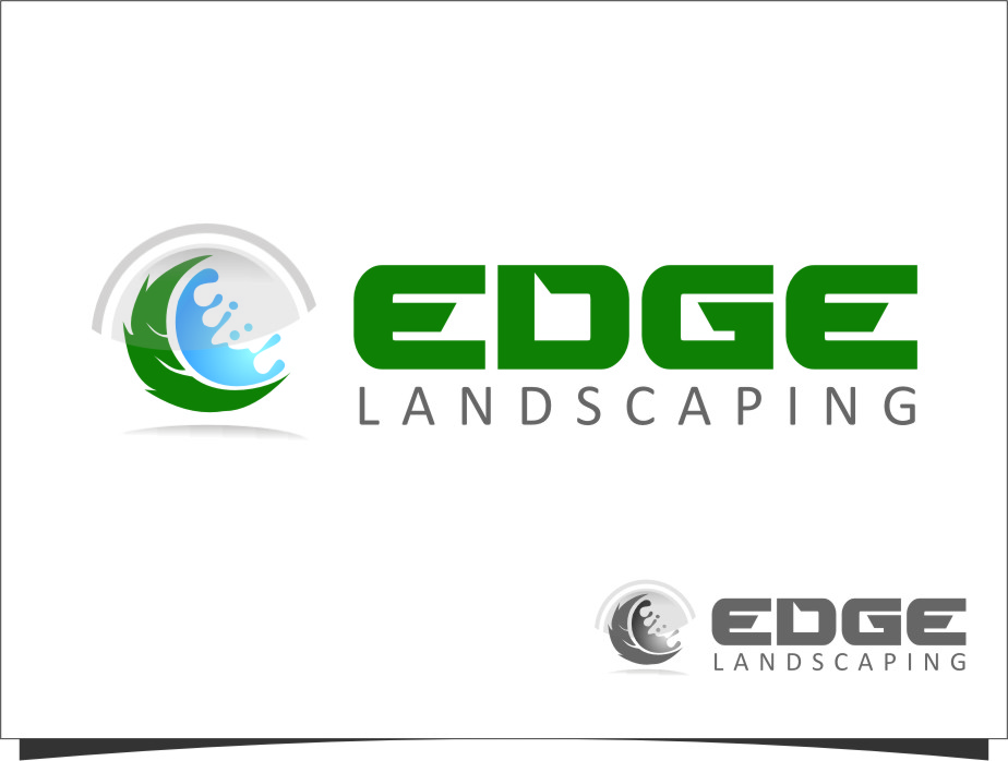 Logo Design by Ngepet_art - Entry No. 266 in the Logo Design Contest Inspiring Logo Design for Edge Landscaping.