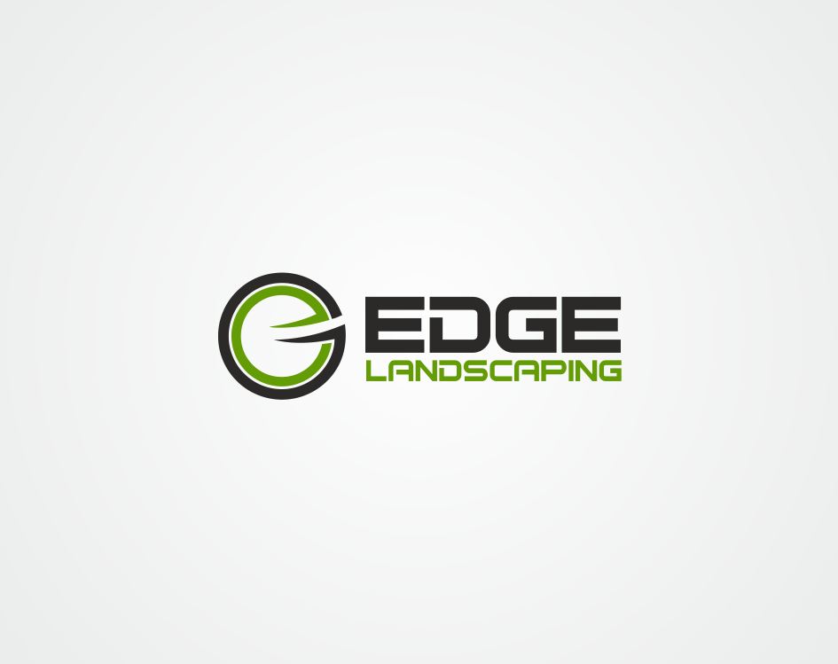 Logo Design by kirmis - Entry No. 272 in the Logo Design Contest Inspiring Logo Design for Edge Landscaping.