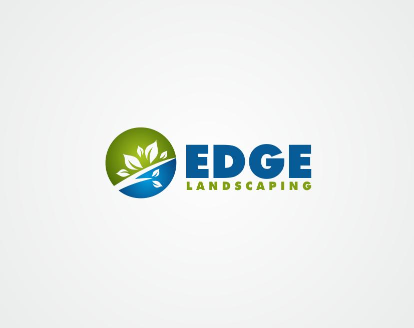 Logo Design by kirmis - Entry No. 274 in the Logo Design Contest Inspiring Logo Design for Edge Landscaping.