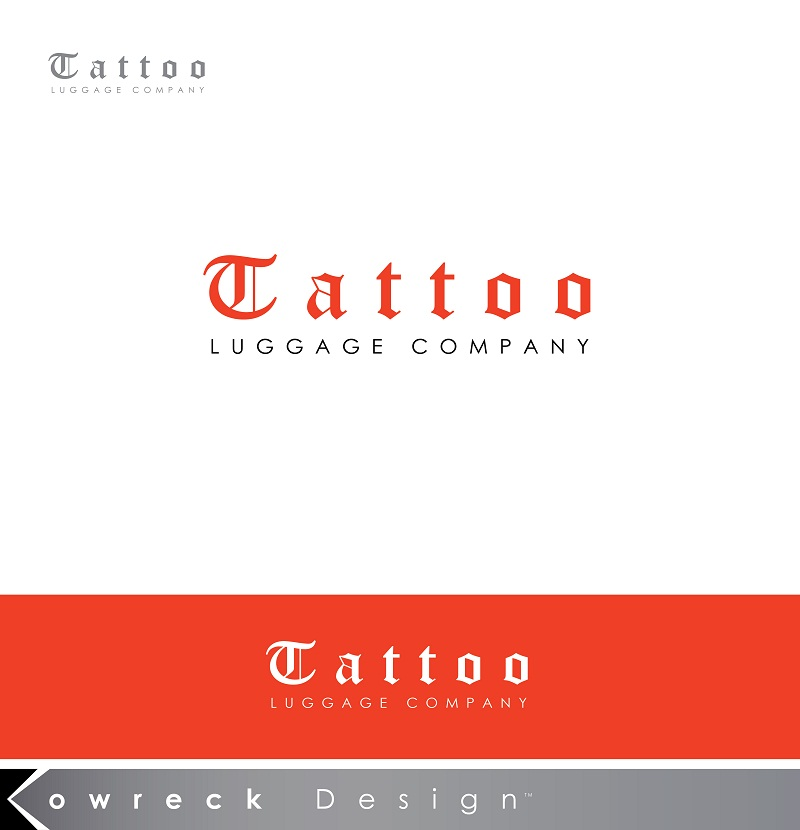 Logo Design by kowreck - Entry No. 1 in the Logo Design Contest Artistic Logo Design for Tattoo Luggage Company.