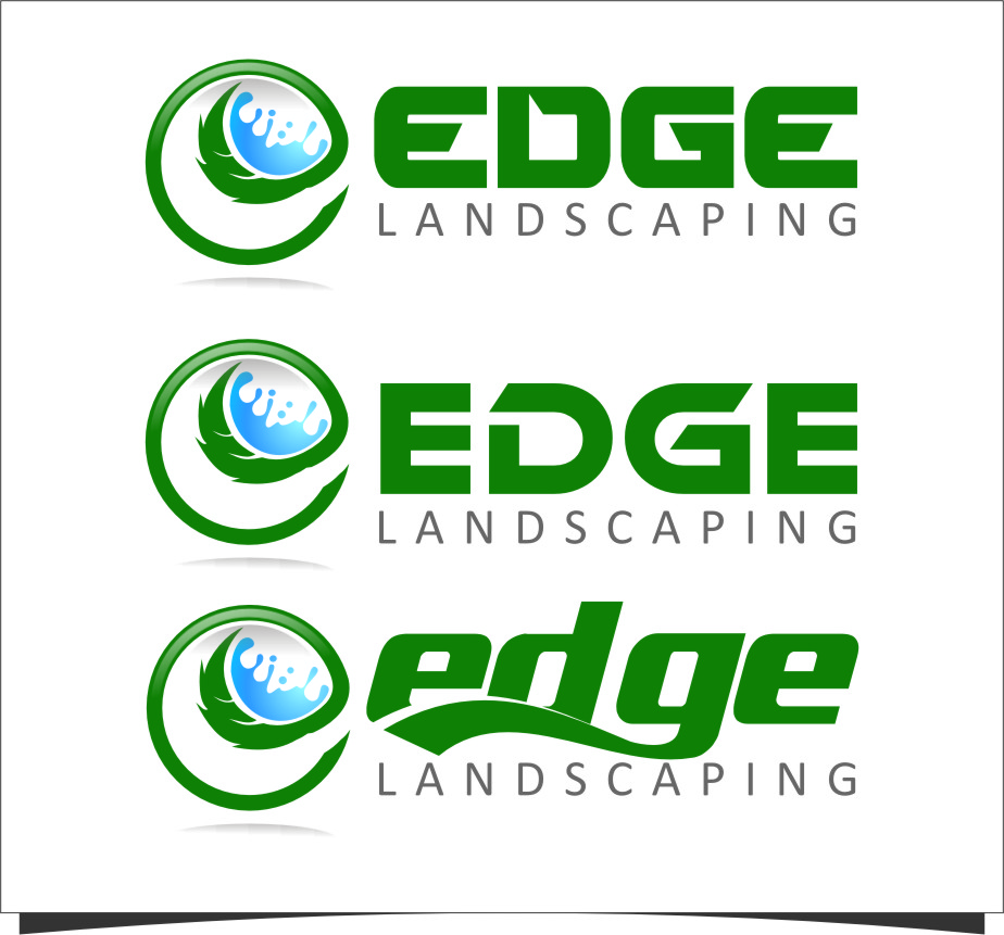 Logo Design by RasYa Muhammad Athaya - Entry No. 275 in the Logo Design Contest Inspiring Logo Design for Edge Landscaping.