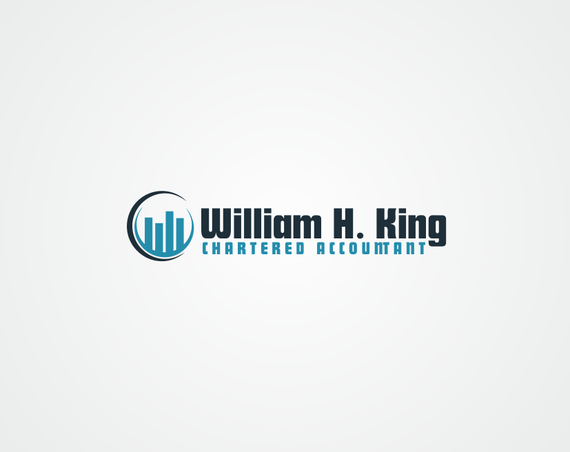 Logo Design by kirmis - Entry No. 150 in the Logo Design Contest New Logo Design for William H. King, Chartered Accountant.
