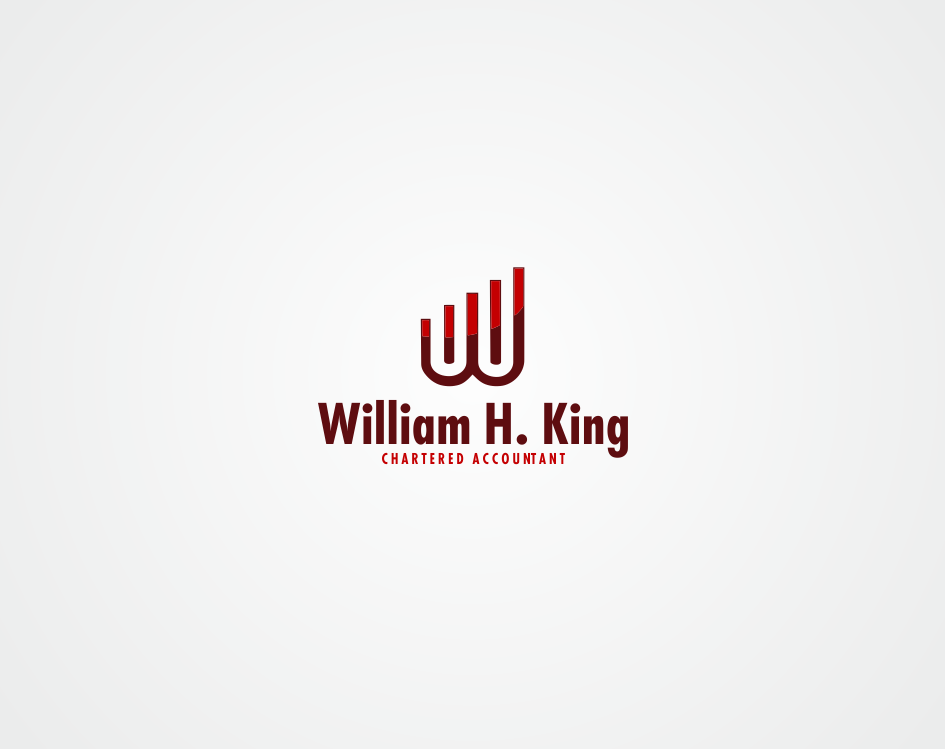 Logo Design by kirmis - Entry No. 151 in the Logo Design Contest New Logo Design for William H. King, Chartered Accountant.