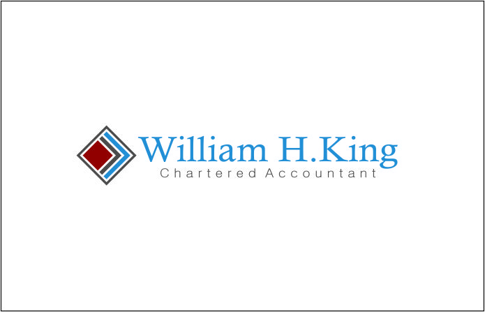 Logo Design by Agus Martoyo - Entry No. 153 in the Logo Design Contest New Logo Design for William H. King, Chartered Accountant.