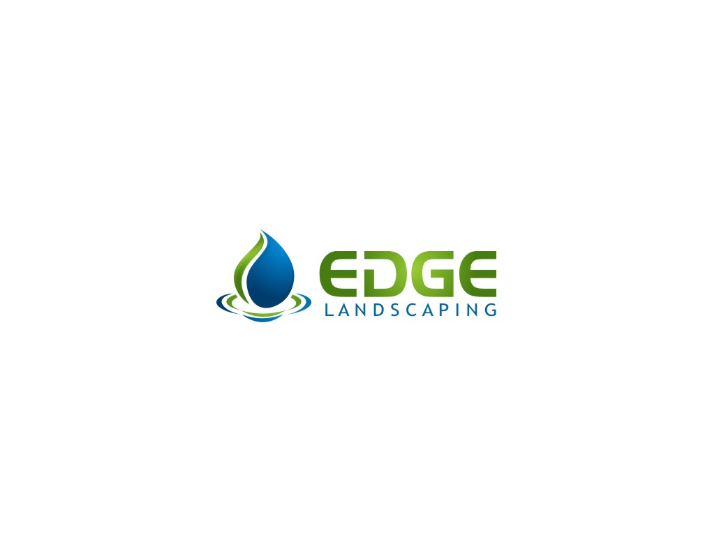 Logo Design by untung - Entry No. 276 in the Logo Design Contest Inspiring Logo Design for Edge Landscaping.