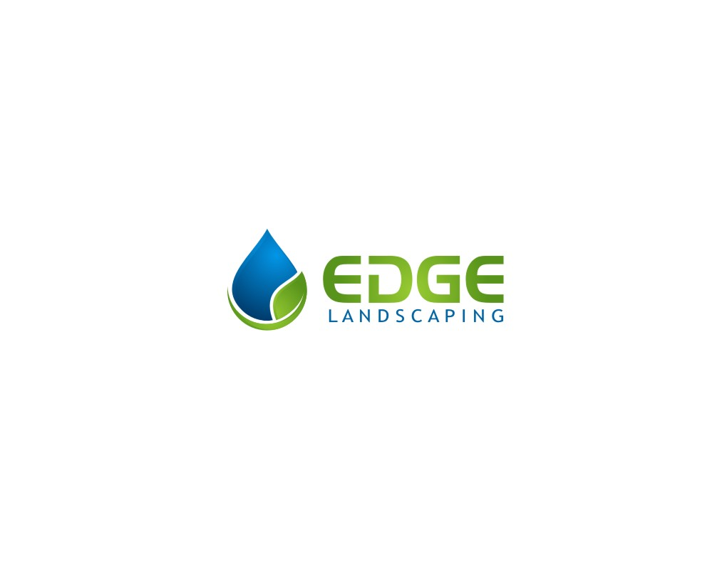Logo Design by untung - Entry No. 277 in the Logo Design Contest Inspiring Logo Design for Edge Landscaping.