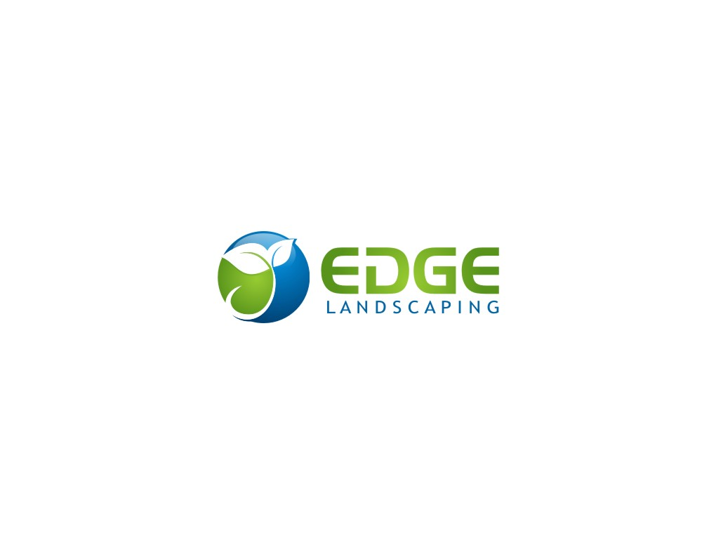 Logo Design by untung - Entry No. 278 in the Logo Design Contest Inspiring Logo Design for Edge Landscaping.