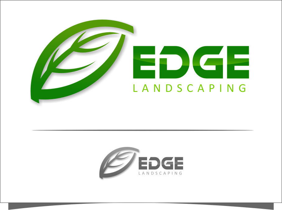 Logo Design by RoSyid Rono-Rene On Java - Entry No. 279 in the Logo Design Contest Inspiring Logo Design for Edge Landscaping.