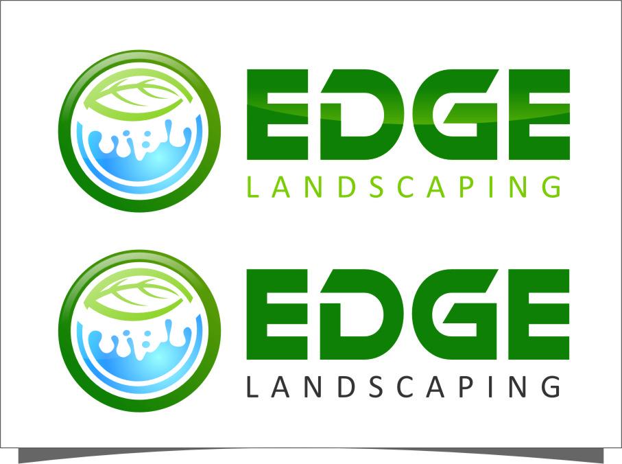 Logo Design by Ngepet_art - Entry No. 280 in the Logo Design Contest Inspiring Logo Design for Edge Landscaping.