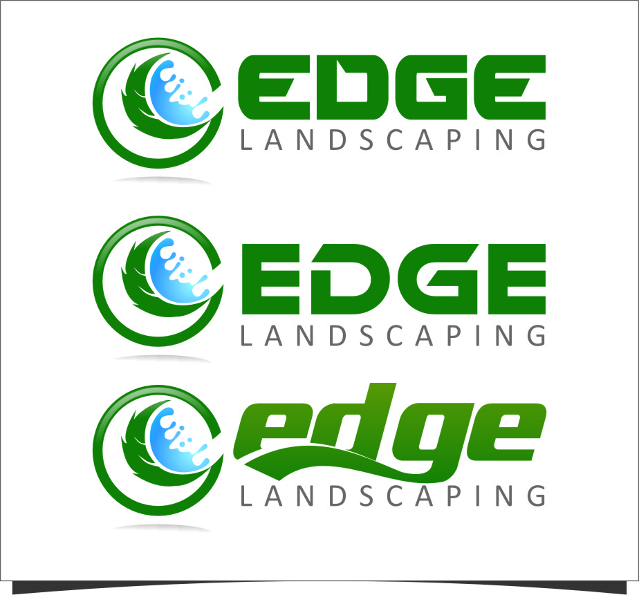Logo Design by RasYa Muhammad Athaya - Entry No. 281 in the Logo Design Contest Inspiring Logo Design for Edge Landscaping.