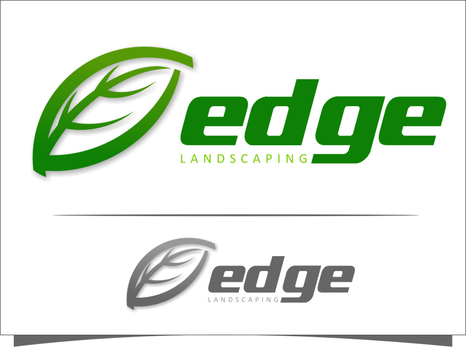 Logo Design by RoSyid Rono-Rene On Java - Entry No. 283 in the Logo Design Contest Inspiring Logo Design for Edge Landscaping.