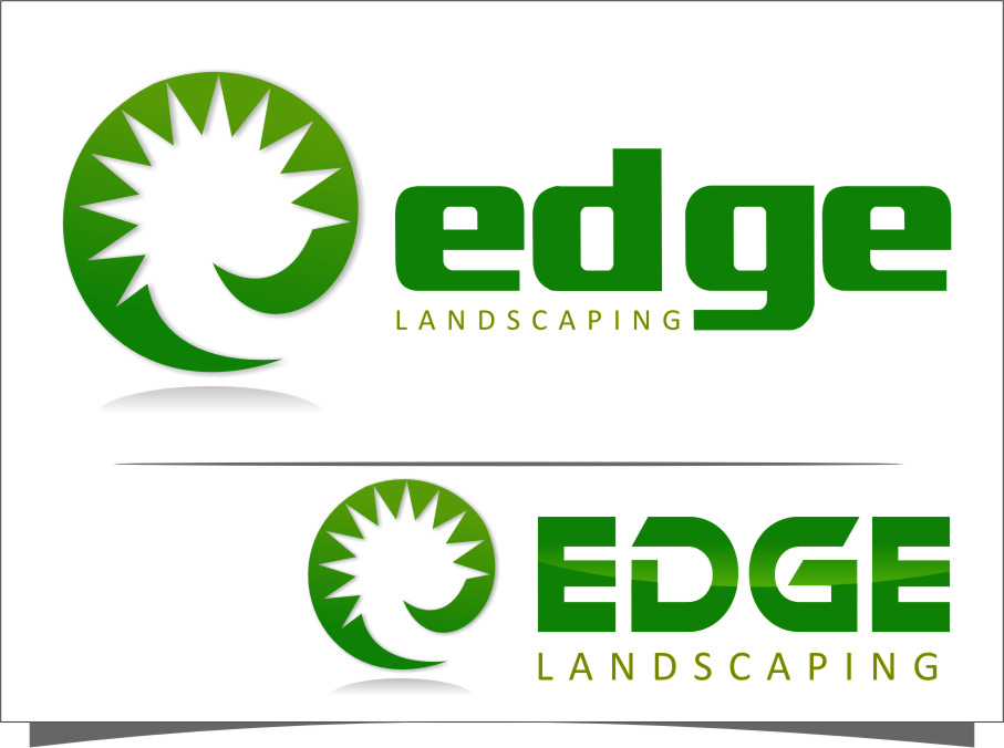 Logo Design by Ngepet_art - Entry No. 287 in the Logo Design Contest Inspiring Logo Design for Edge Landscaping.