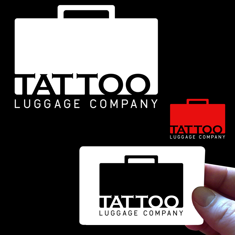 Logo Design by Private User - Entry No. 3 in the Logo Design Contest Artistic Logo Design for Tattoo Luggage Company.