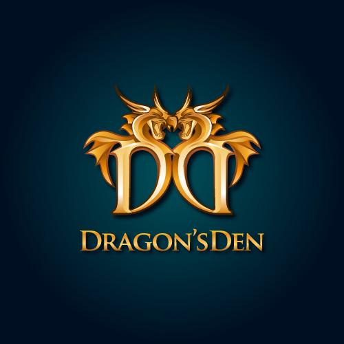 Logo Design by SilverEagle - Entry No. 93 in the Logo Design Contest The Dragons' Den needs a new logo.