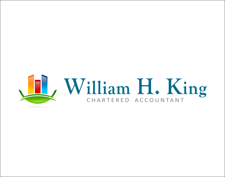 Logo Design by Ngepet_art - Entry No. 158 in the Logo Design Contest New Logo Design for William H. King, Chartered Accountant.