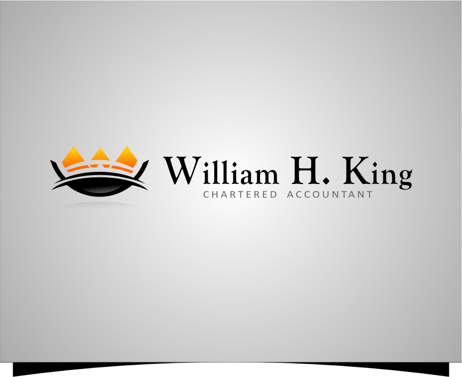 Logo Design by RasYa Muhammad Athaya - Entry No. 160 in the Logo Design Contest New Logo Design for William H. King, Chartered Accountant.