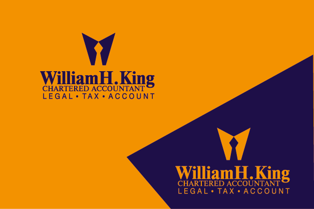 Logo Design by Private User - Entry No. 162 in the Logo Design Contest New Logo Design for William H. King, Chartered Accountant.