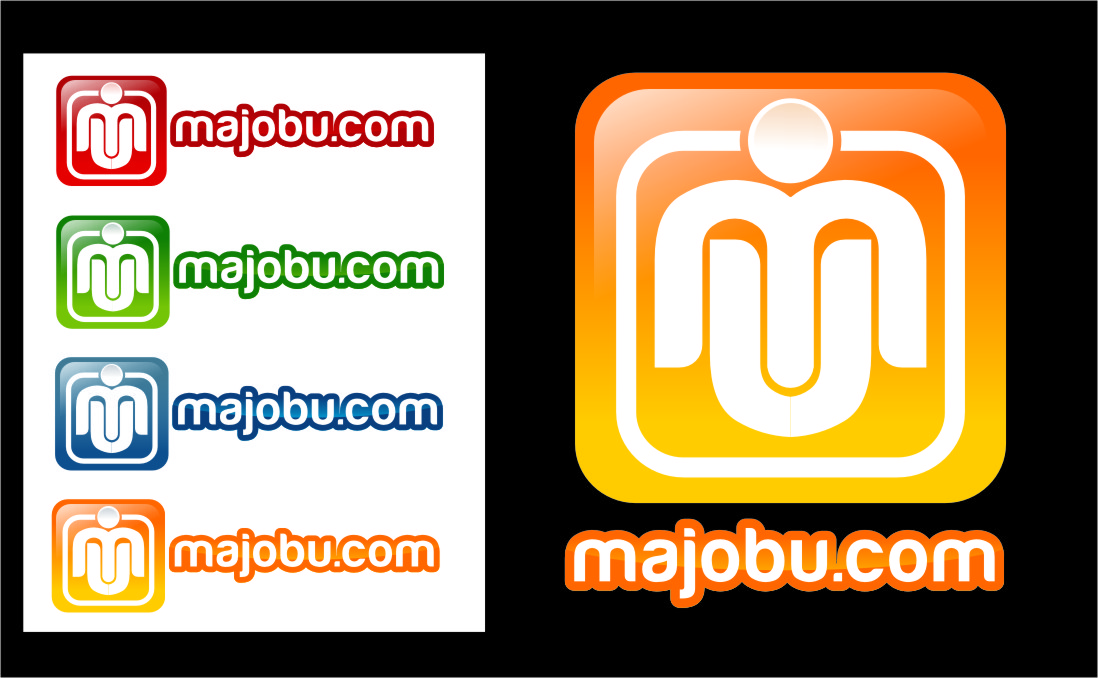 Logo Design by RasYa Muhammad Athaya - Entry No. 108 in the Logo Design Contest Inspiring Logo Design for Majobu.