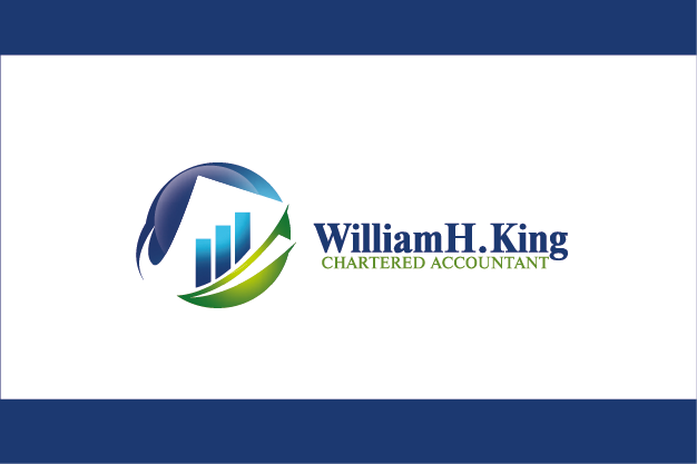 Logo Design by Private User - Entry No. 164 in the Logo Design Contest New Logo Design for William H. King, Chartered Accountant.